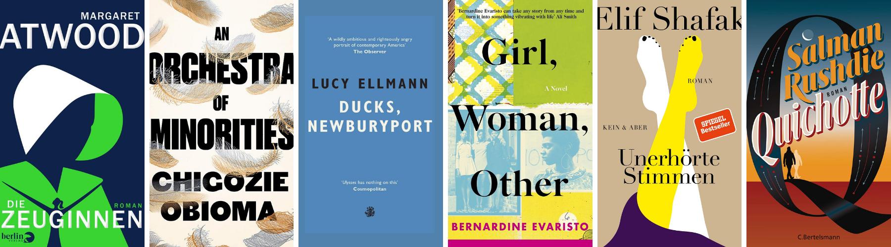 Booker Prize 2019 - Shortlist(4)